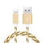 Braided-USB-Charger-Cable-Data-Sync-Cord-For-iPhone-7-Plus-iPhone-6-iPhone-X-8-5 miniatuur 8