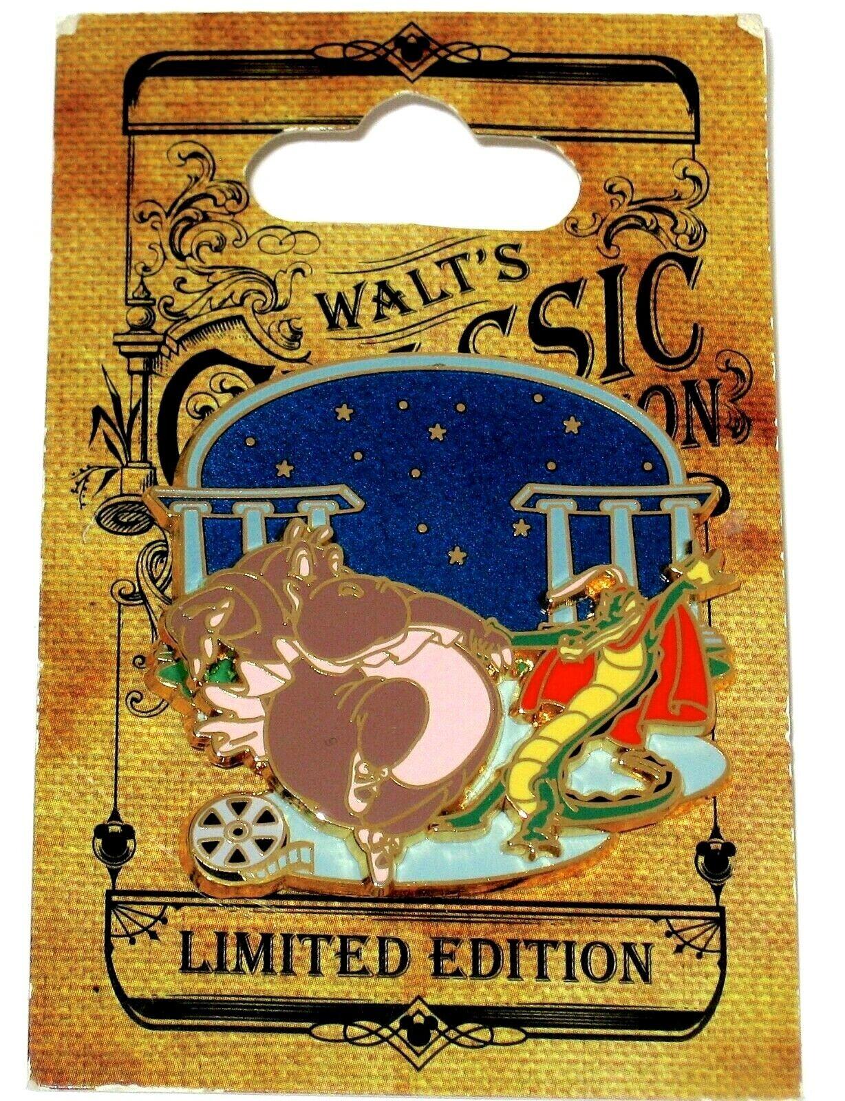 LE Disney Pin✿ Walt/'s Classic Film Reel Fantasia Hyacinth Hippo /& Ben Ali Dance