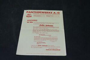 Age-Print-Pantherwerke-Ag-Bicycle-Old-Vintage-Advertisement