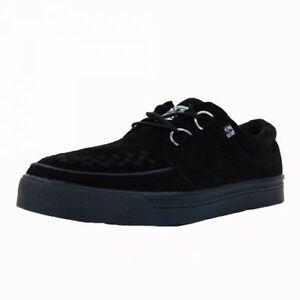 t u k tuk a6061 black suede creeper sneaker original