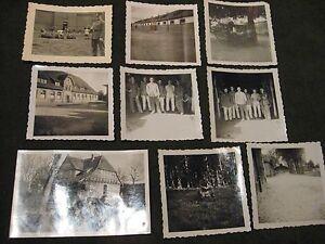 Privat-8x-Soldaten-Ausbildung-Celle-2-WK-Kaserne-u-a-1940-Jahre-Ancient-soldiers