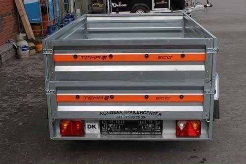 Trailer, TEMA Tema ECO 2012 Høje sider, lastevne (kg): 630