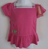 Gymboree Girls 18 24 Months Top Shirt Tennis Match Turtle Pink