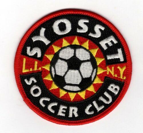 Vintage SYOSSET NEW YORK SOCCER CLUB PATCH Long Island