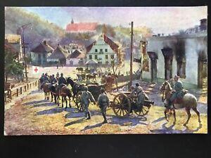 Weltkrieg 1914-1915 - Kasimierz nach d. Eroberung durch unsere Truppen 170085 TH