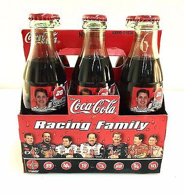 New 8oz Bottles Kenny Irwin #28-1999 NASCAR Coca ColaRacing Family