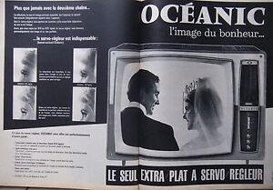 PUBLICITE-DE-PRESSE-1961-OCEANIC-EXTRA-PLAT-A-SERVO-REGLEUR-ADVERTISING