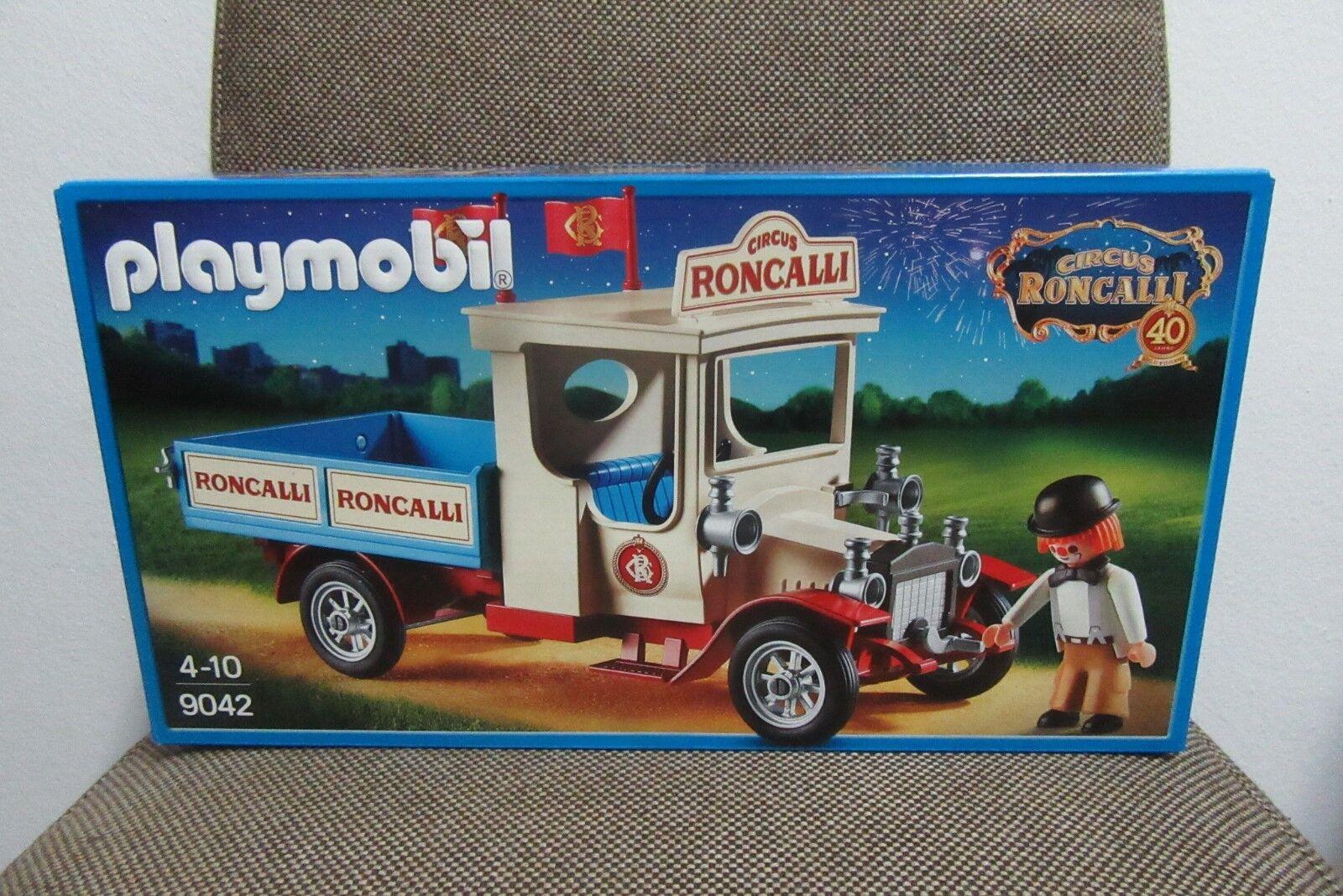 Playmobil - Promocional - Vehiculo Camion Circo Roncalli - 9042 - (NUEVO) OVP