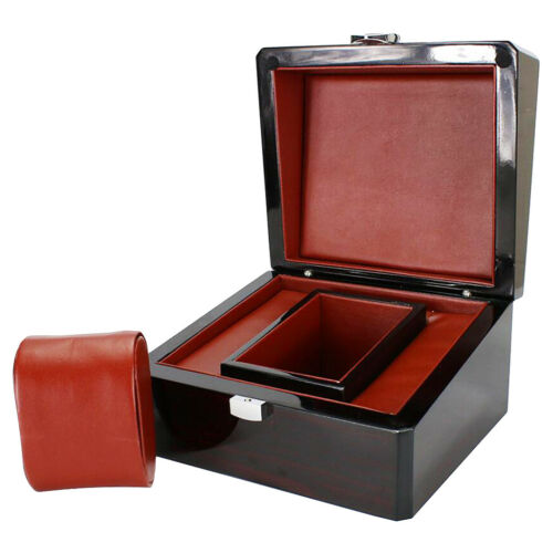 1 Stück Uhrenbox Holz Uhr Veranstalter Schmuck Tablett Uhr