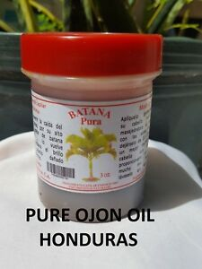 Details about Batana Oil -Original Pure Ojon oil 3oz -From The Moskitia  Honduras FREE SHIPPING