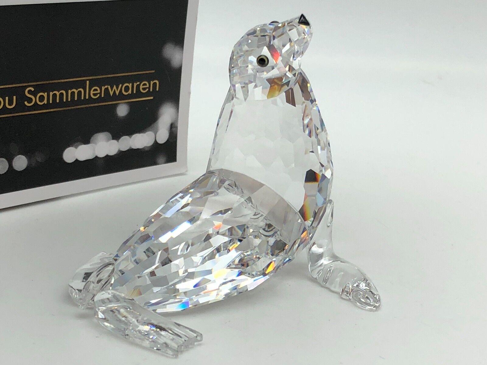 Swarovski personaje ⭐ ⭐ 679592 león marino 7 cm. ⭐ ⭐ top estado
