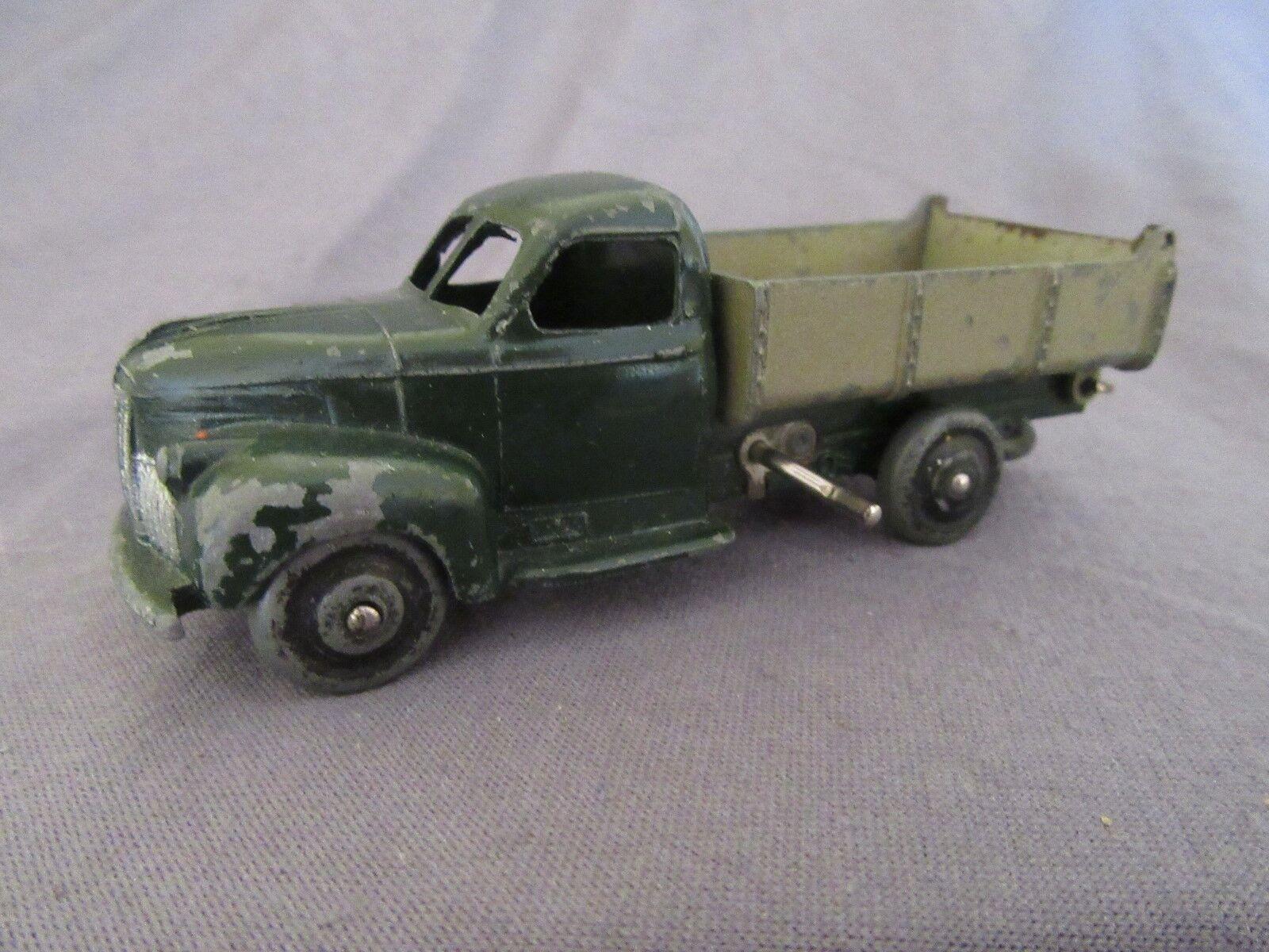 545F Vintage Dinky 25M Studebaker M16 Volquete Basculante Ruedas Zamak