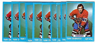 1X YVAN COURNOYER 1973 74 Topps #115 EXMT Lots Available Canadiens