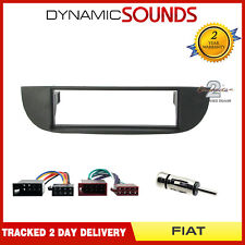 CT24FT06 Car Stereo S//Din Fascia ISO /& Aerial Fitting Kit for Fiat Panda 2003 On