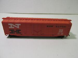 Vintage-Tyco-New-Haven-NH-35688-Orange-Box-Train-Car-HO-Gauge-Scale-tr1405