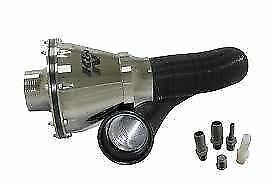 K-amp-N-Silver-Apollo-Universal-Cold-Air-Intake-Induction-Kit-With-Air-Box-amp-Filter