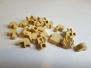 New 6091 - Choice of Colour /& Qty Lego Brick 1 x 2 x 1.33 with Curved Top