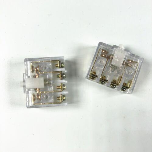 2 220 V 3 A 30x11x29mm Interrupteur 4 bornes à vis bouton actionneur Limit Switch JW2-11