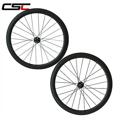 CSC 25mm width Disc Brake hub 88mm Clincher Front carbon Cyclocross wheels only