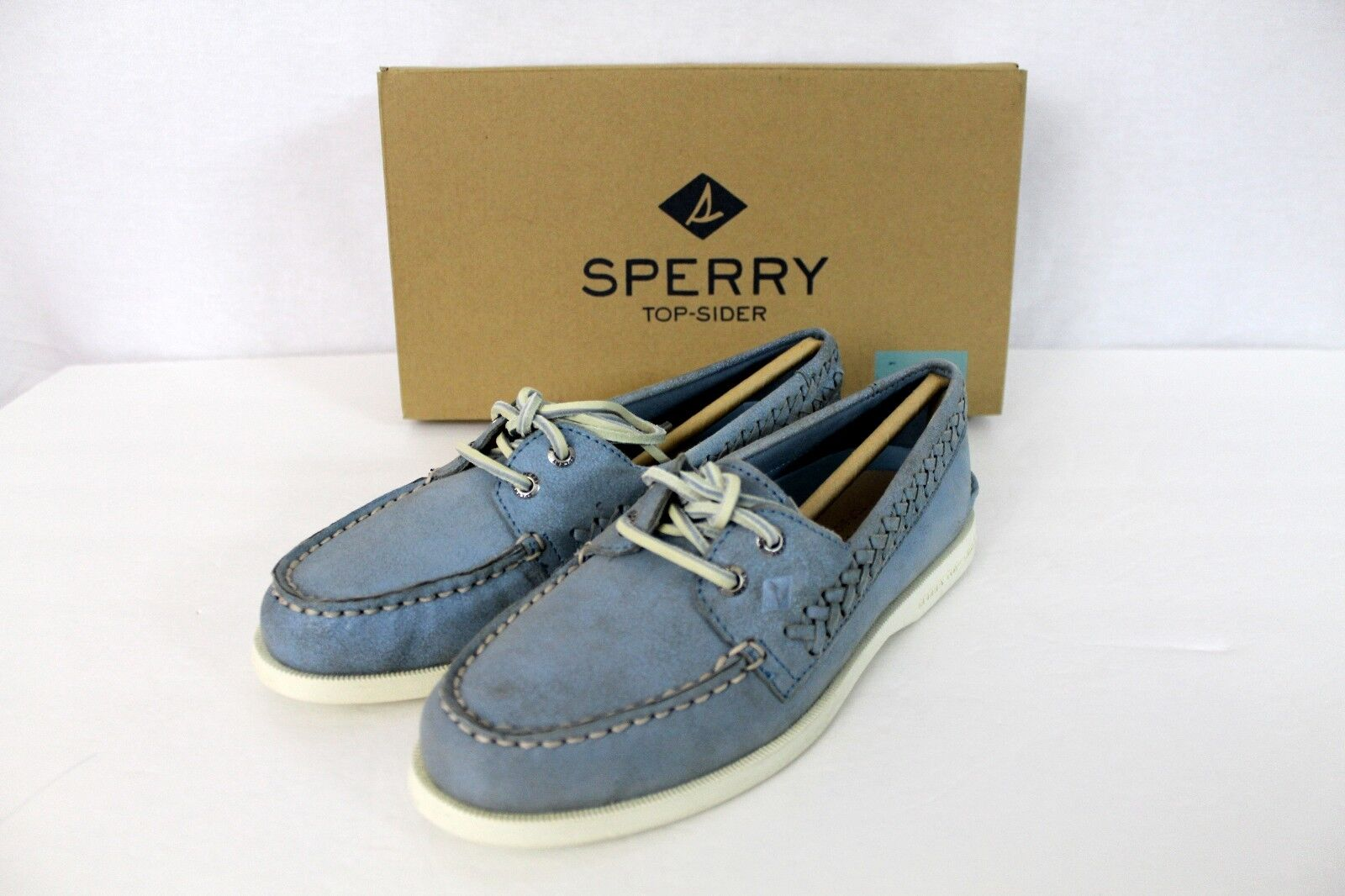 vendita scontata Sperry Top-Sider Quinn Boat scarpe blu Leather Donna    Dimensione 5 NEW NIB  95 Retail  comodamente