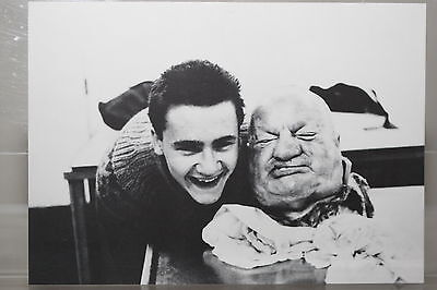 """Ausstellung /""""With Dead Head/"""" limitierte Kunst-Postkarte DAMIEN HIRST"""