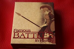 RARE-2009-Tuvalu-Famous-Battles-Thermopylae-1oz-Silver-proof-Coin-uncirculated
