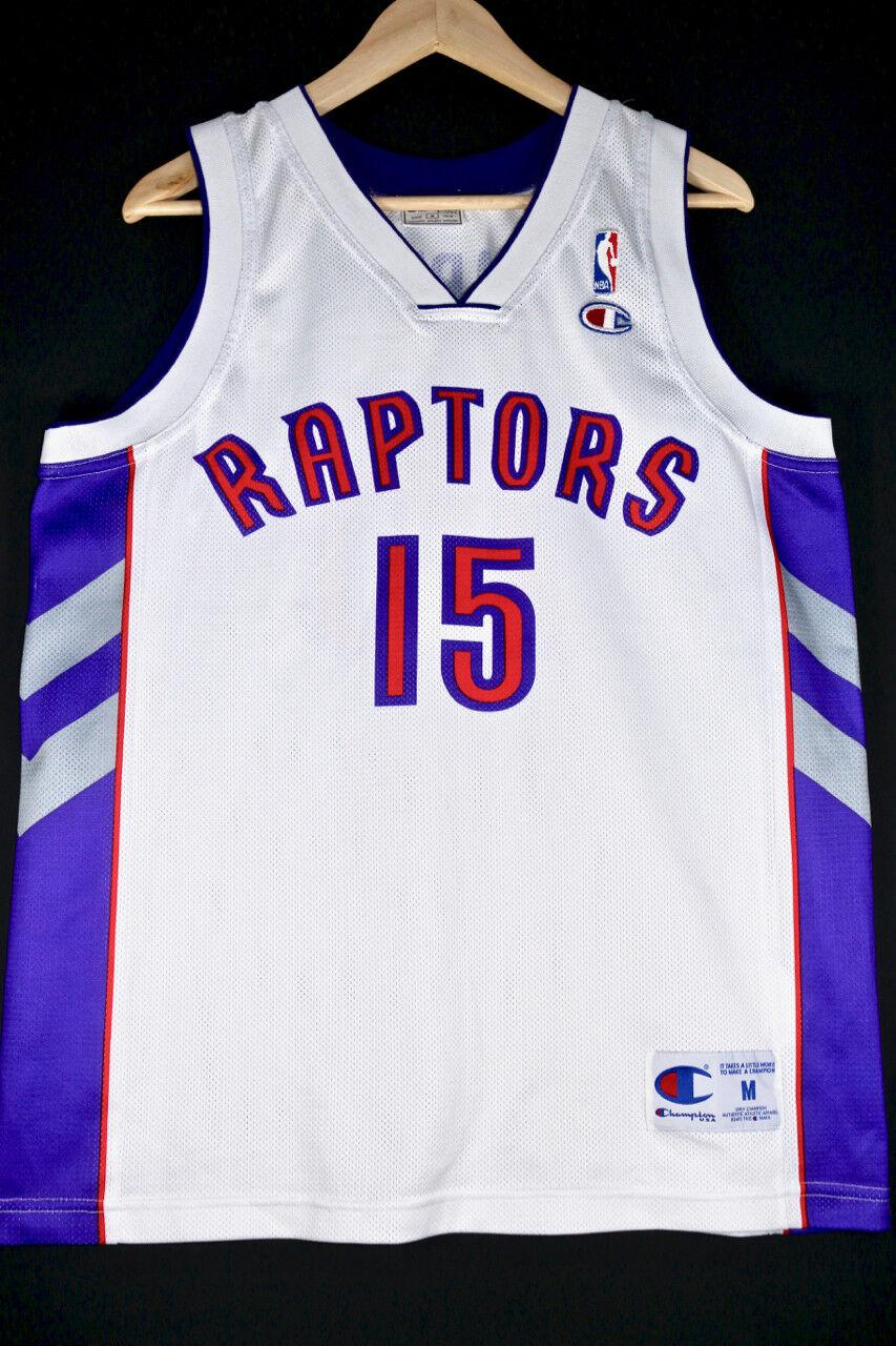 NEW Vince Carter TGoldnto Raptors Raptors Raptors Trikot M 40 Basketball Jersey NBA TMAC McGrady fc57fe