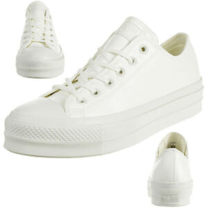 Details about Converse Ctas Lift Ox Sneaker WhiteVintage White 564429C