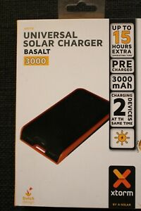 Xtorm universal Solar Charger Basalt 3000 Powerbank
