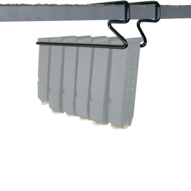 Safety Storage Gun Solution Pack Of 2 Under Shelf Pistol Hanger Magazine  Holder
