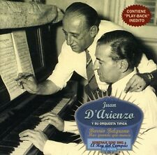 Juan D'Arienzo, Juan D'Ariezo - Barrio Belgrano [New CD]