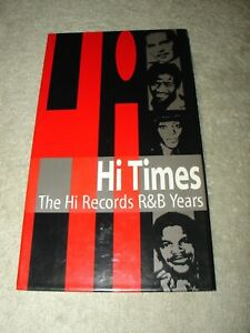 HI-TIMES-The-Hi-Records-R-amp-B-Years-3-CD-Set-American-Soul-Rockabilly