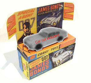 CORGI JUNIORS-James Bond. superba riproduzione Display/Scatola e Vassoio solo.