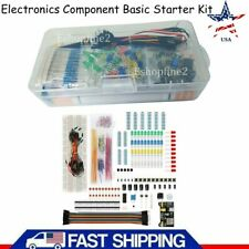 Us Electronics Component Basic Starter Kit With830 Tie Points Breadboard Resistor