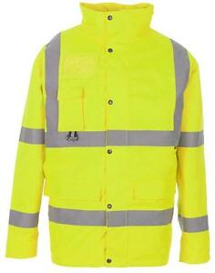 HI-VIS JACKET BREATHABLE YELLOW XL Personal Protection & Site Safety - GR77605