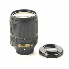 Nikon NIKKOR 18-140mm f/3.5-5.6 ED VR  G AF-S DX Lens with caps, 67 mm thread