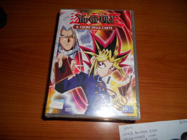 Yu-Gi-Oh! Vol. 01. Il cuore delle carte (1998) DVD raro nuovo e sigillato