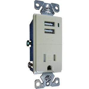 Excellent Cooper Wiring Devices Tr7740Bk Box Combination Usb Charger Circuit Wiring 101 Tzicihahutechinfo