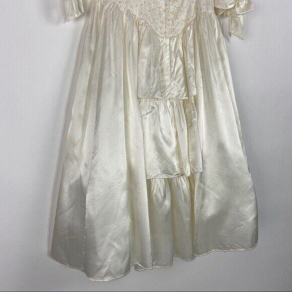 GUNNE SAX Jessica McClintock Size M Vintage White… - image 10