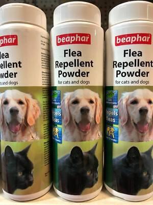 Beaphar Antipulci Repellente In Polvere Per Gatti E Cani 30g * Stesso Giorno Spedizione *-