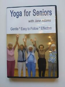 yoga for seniors with jane adams 2009  gentle easy to