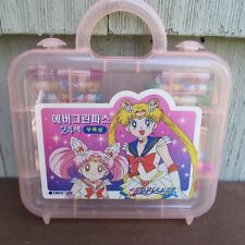 Vintage 90s Sailor Moon Art Box Oil Pastels 1992 Japan Anime