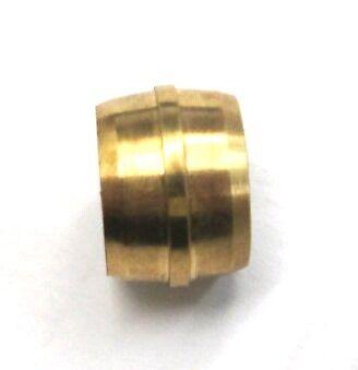 "1//4/"" Brass DOT Air Brake Ferrule BR 1460-04 8 Pack"