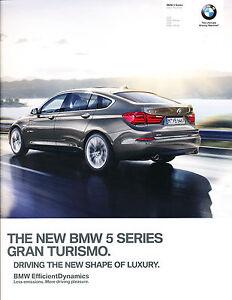 Auto Parts and Vehicles 535i 550i 2015 2016 BMW 5-Series Gran Turismo GT 60-page Car Sales Brochure Car & Truck Repair Manuals & Literature