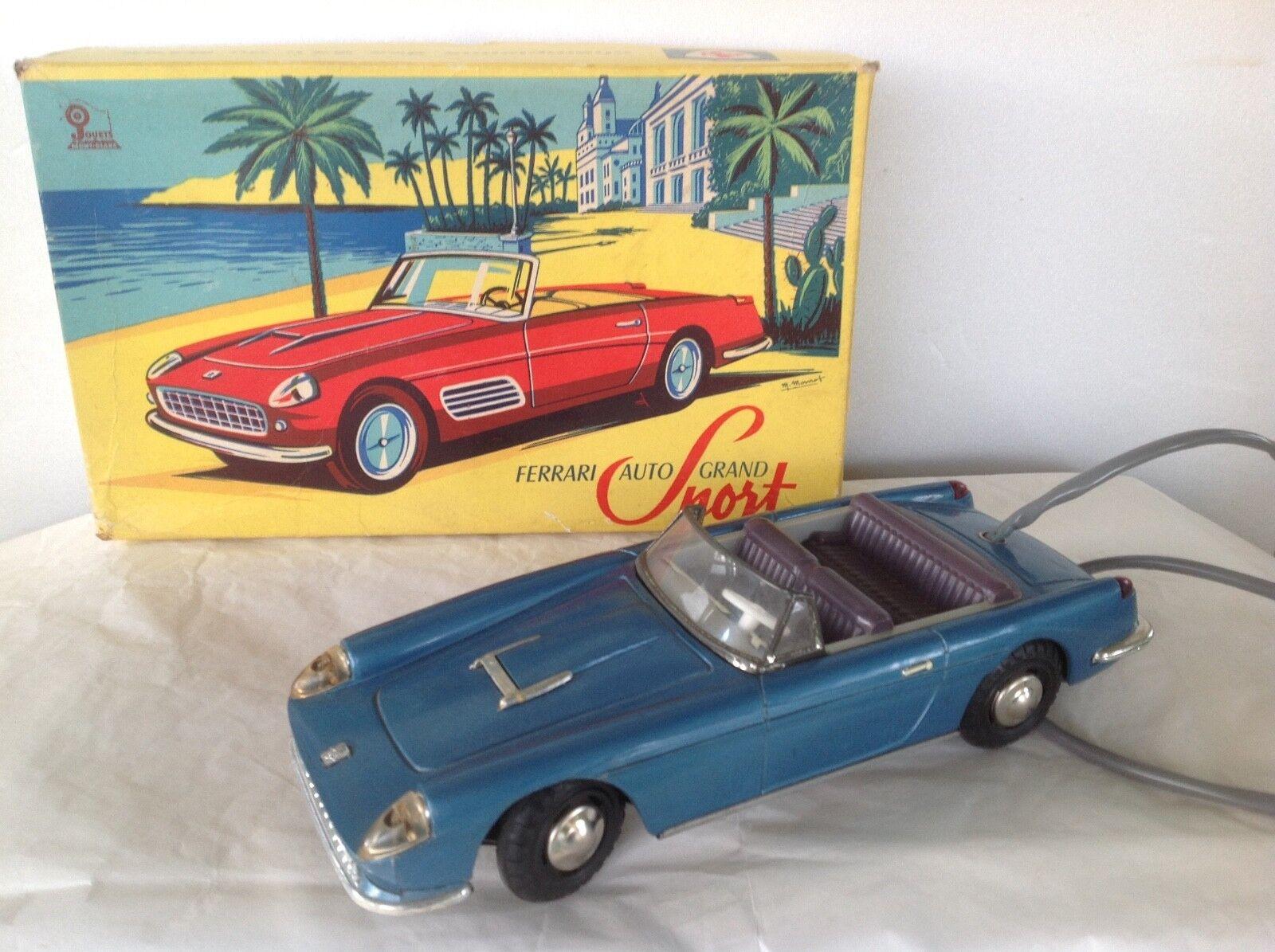 MONT-BLANC 611  FERRARI 250 GT CABRIOLET EN PLASTIQUE ET TOLE années 1960 BOITE
