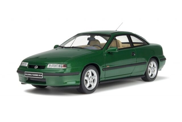 Opel Calibra Coupe Turbo 4x4 1996 Grün Grün limit 1 500 ot651 Resin Otto 1 18