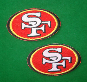 "SAN FRANCISCO 49ers PATCH 3/"" BIN:D1"