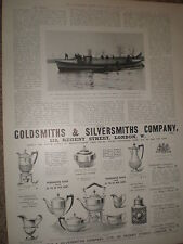 Printed photo Largest steam life-boat Princess of Wales 1903