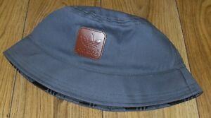 7dd95cbde39 Image is loading adidas-Originals-Mens-Bucket-Hat-Grey