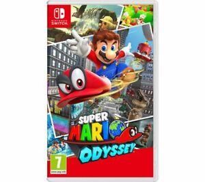 NINTENDO SWITCH Super Mario Odyssey - Currys